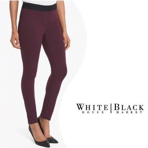 WHBM Skinny Ankle Body Comfort Side Zip Pants